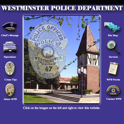 Westminister Police Department by WebMasters